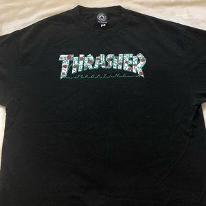 thrasher rose shirt